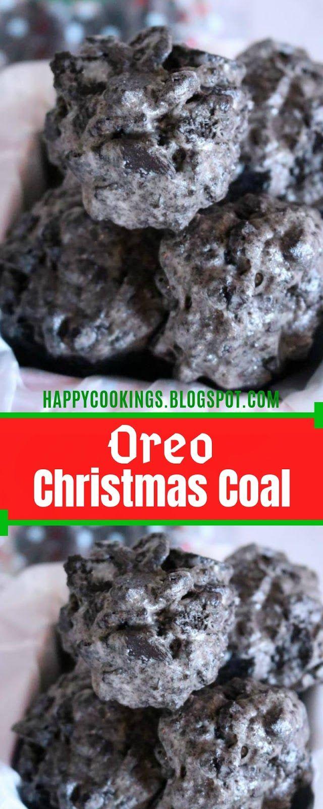 Oreo Christmas Coal Recipe Christmas Coal Cookpad Recipes