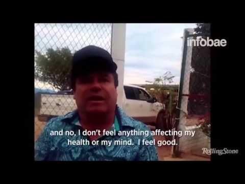la entrevista completa de Sean Penn y Kate del Castillo a El Chapo Guzma...