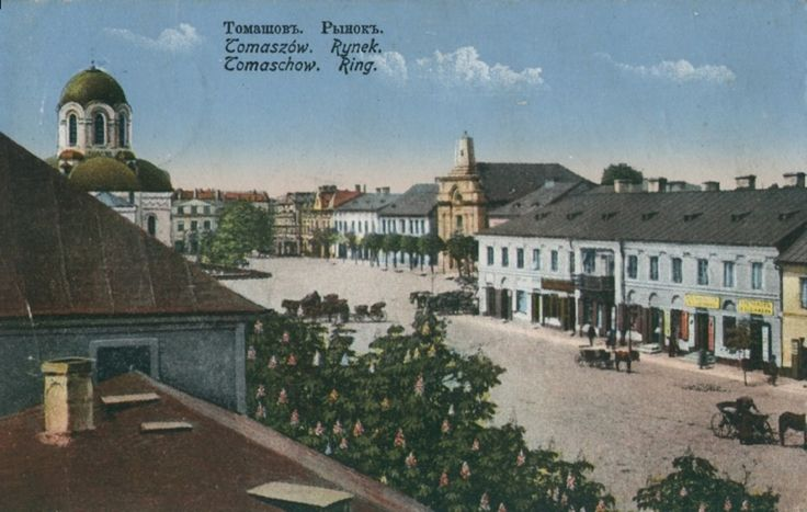 A picture  from the past - Tomaszów Mazowiecki