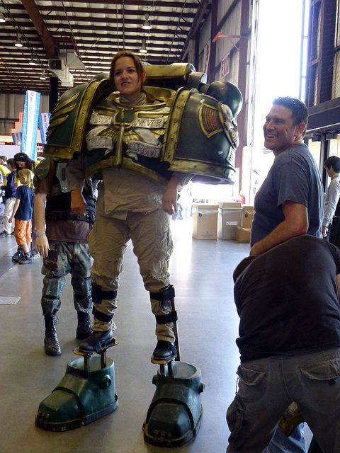Memes Wallpaper 3d Jen The Space Marine Cosplay Warhammer Cosplay