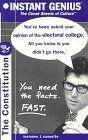 Instant Genius The Cheat Sheets of Culture: The (United States) Constitution (Instant Genius Series)