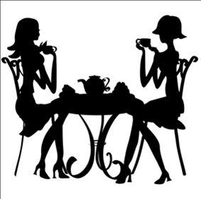 girl's tea time