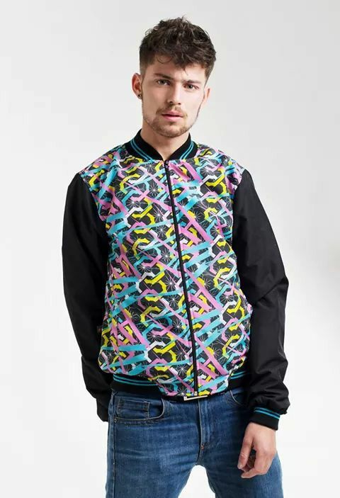 www.facebook.com/bauto.mas Bomber jacket psicodelic