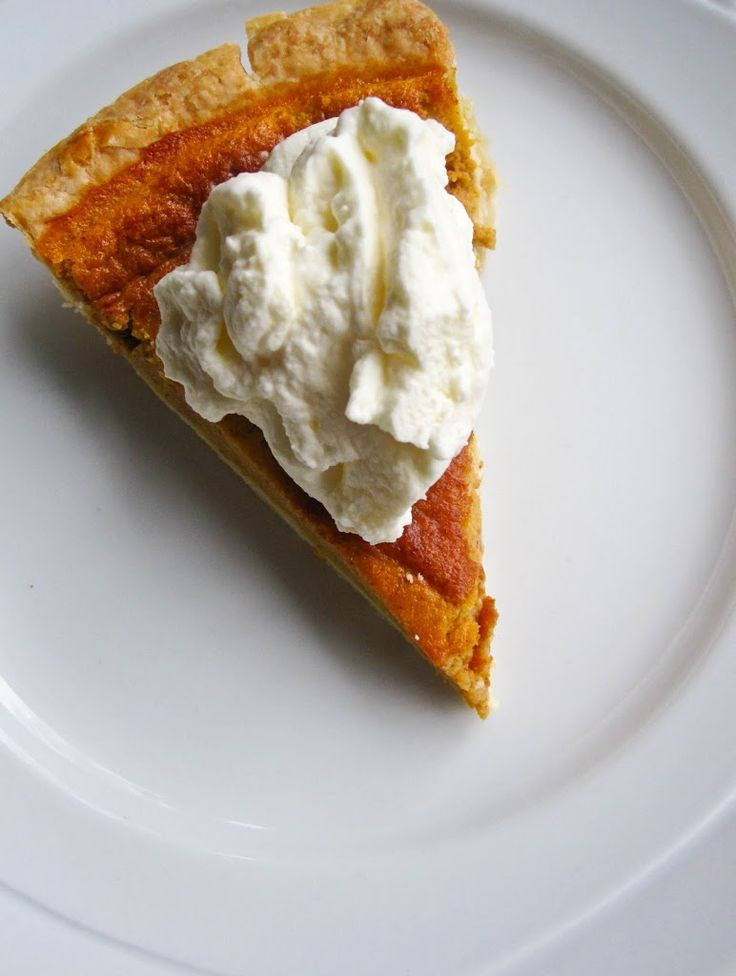 Here's my grandmother's pumpkin pie recipe. The filling is so light and fluffy, almost like a pumpkin mousse. It's always a big hit at our family gatherings. 1 can evaporated milk 1 14oz can pumpkin puree 3/4 cup brown sugar 1 tbsp butter (melted) 1/8 tsp salt 1 tsp cinnamon 1/2 tsp nutmeg 2 eggs- …