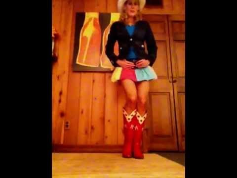 line dance steps - YouTube