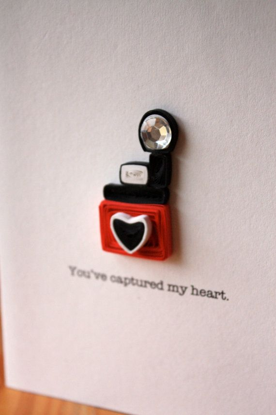 Camera of Love Unique Greetings Love by SweetSpotCardShop