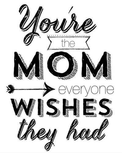 Famous mothers day quotes for mum from daughter and son. You are the mom everyone wishes they had.