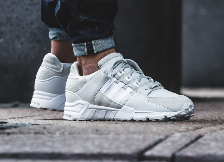 Adidas EQT Support 93 Suede 'Vintage White'