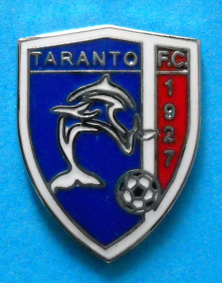 BELLISSIMO DISTINTIVO SPILLA PIN - F.C. TARANTO CALCIO - cod. 594