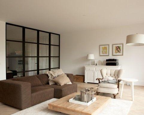 93 best images about for the home stalen deuren on pinterest ramen sliding doors and glasses - Idee deco eetsalon eigentijdse ...