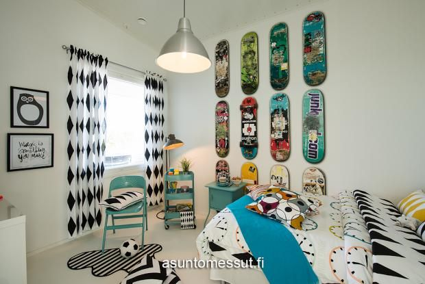 21 Omatalo Meriharakka - Makuuhuone 2 @ Loma-asuntomessut Kalajoella