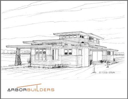 1000 images about arbor builders on pinterest usonian for 1235 s prairie floor plans