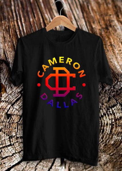 Cameron Dallas Sunset Coloured tee shirt