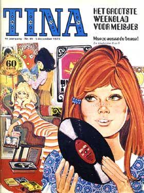 tina-het grootste weekblad voor meisjes-in de jaren 90 meisjes werd meiden