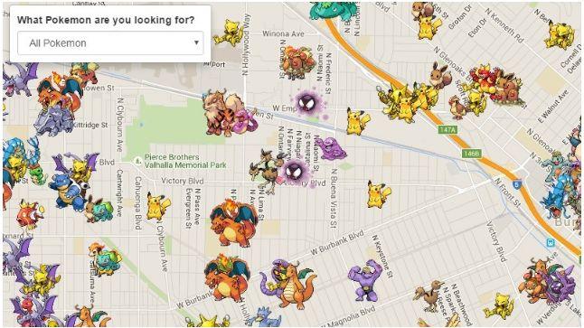 Pokemon Haritası: Poke Radar