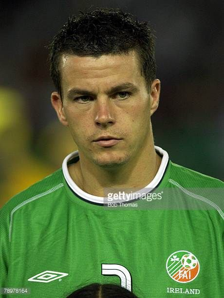 Football 2002 FIFA World Cup Finals Yokohama Japan 11th June 2002 Saudi Arabia 0 v Republic of Ireland 3 Ian Harte Ireland