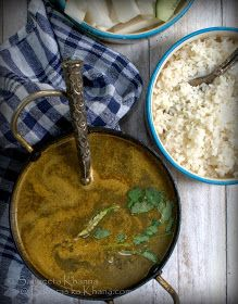 banaras ka khana: bhatt ka dubka | a curry made with local black soybeans from Uttarakhand
