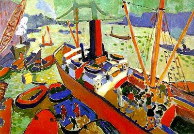 The Pool of London -  André Derain 1905-06