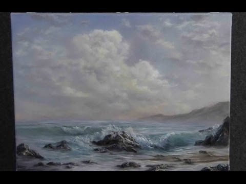 ▶ Paint with Kevin Hill - A Gentle Seascape - YouTube
