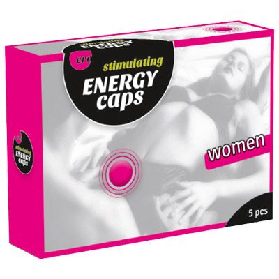 ERO Stimulating Energy Caps for Women 5 Pack for Sale  Intensify your climax with these stimulating and exciting products. You can use them to make your love life even more intense.Search our fantastic online adult shop for a huge range of mens, womens and couples pleasure enhancers and lubricants