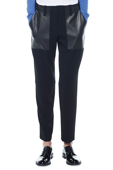#refinery29  http://www.refinery29.com/cheap-work-clothes#slide13  Judith & Charles Patch Pant, $224.68 (originally $321.33), available at Judith & Charles.