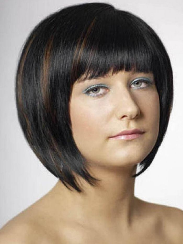 Black Hairstyles With Bangs For Short Hair ~ http://wowhairstyle.com/black-hairstyles-with-bangs/