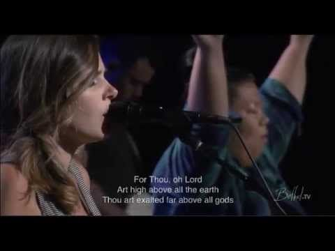 Oh Lord, You're Beautiful & I Exalt Thee - Kristene Di Marco(Bethel Church) - YouTube