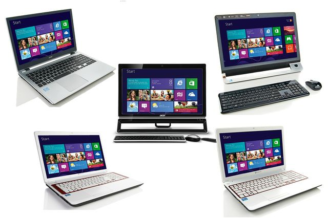 First Windows 8 laptops appear for sale, won't ship for another month