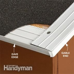 Installing exterior window trim - Drip Edge On Pinterest The Roof Wood Trim And Cedar Shingles