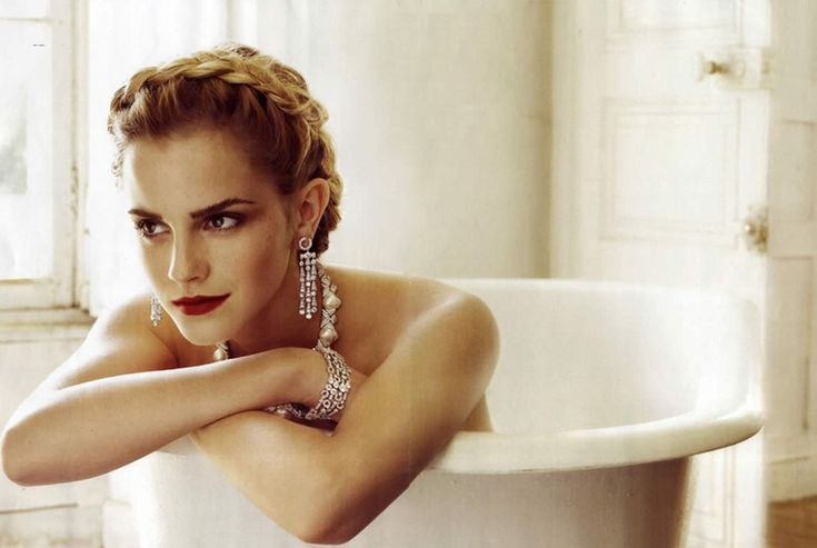 Emma Watson in Vogue Magazine