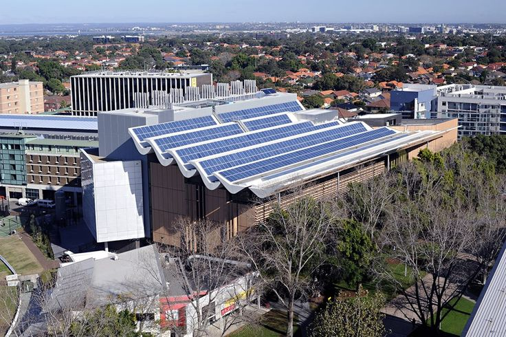 Aerial view to West, Tyree Building, UNSW Australia