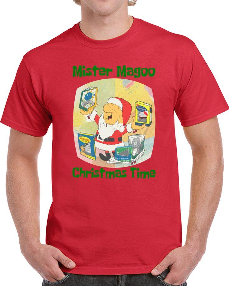 Mister Magoo Christmas Time   T Shirt