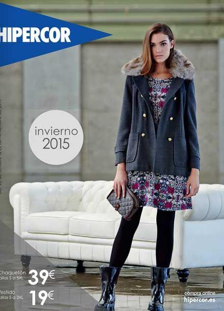 Hipercor catalogo virtual Moda invierno 2015