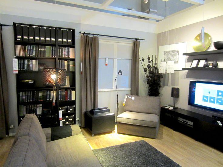 Látkové roletky a závěsy IKEA