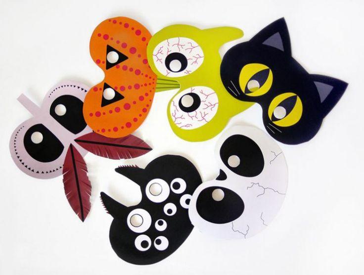 8 idee originali per realizzare maschere di Halloween a colpi di riciclo creativo, divertenti e diverse dal solito.