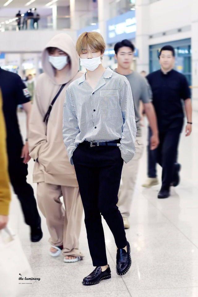 Park Jimin Airport Fashion