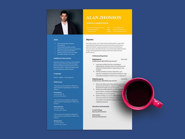 Free contract administrator resume template resume