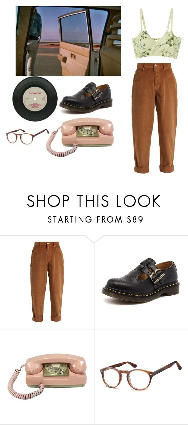 """""""sunset"""" by fragilestars on Polyvore featuring Miu Miu and Dr. Martens"""