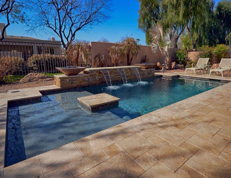 101 best pool baja step tanning shelf images on pinterest for Pool design 101