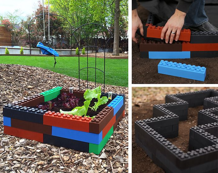 Easy DIY Garden Box – step by step photos show you how to build it.