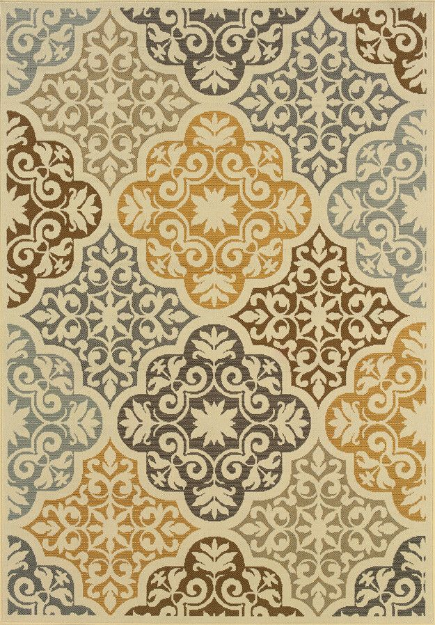 Wildon Home ® Wilson Floral Ivory & Grey Area Rug & Reviews | Wayfair