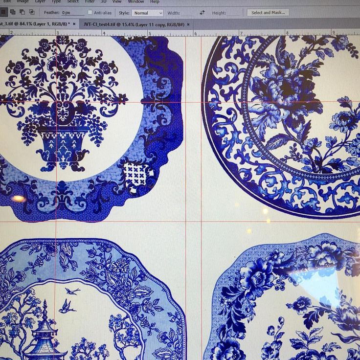 """Working on a fun eclectic dinnerware collection today for one of my best clients. Can't wait to see…"""" www.jackievontobel.com"""