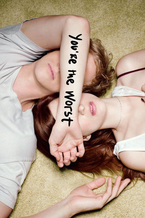 You're the Worst (2014– ) - (FXX) Wednesday, Sept. 9, 2015  at 10:30 p.m. - Centers on two toxic, self-destructive people who fall in love and attempt a relationship.  Creator: Stephen Falk -  Stars: Chris Geere, Aya Cash, Desmin Borges - COMEDY / ROMANCE