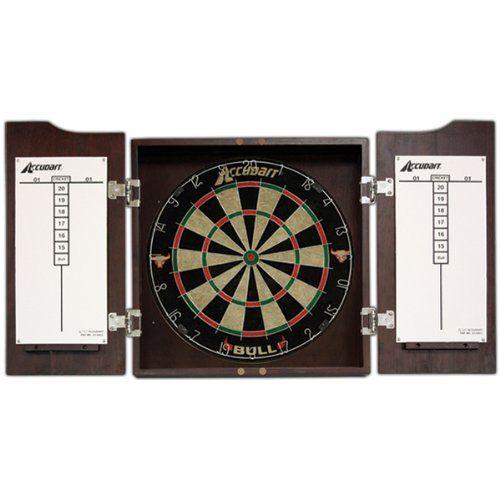 Accudart Bull Dartboard Cabinet And Set Accudart Https://www.amazon.com