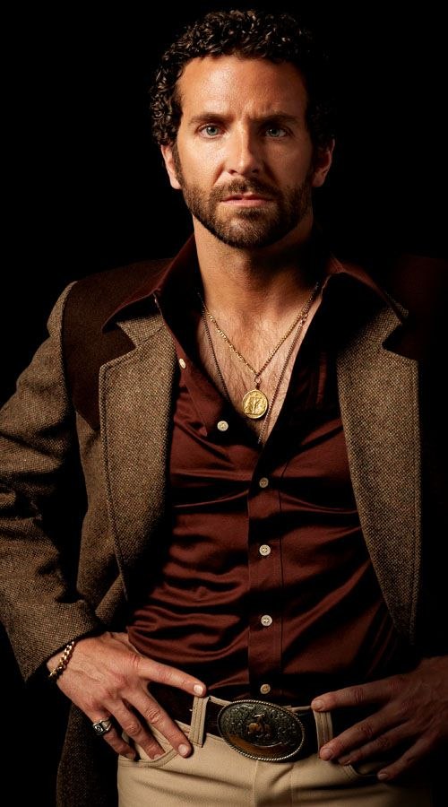 It is so creepy that I loved Bradley coopers permed hair in American Hustle... But I still love it nevertheless.