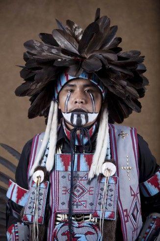 Navajo Dancer...beautiful dress