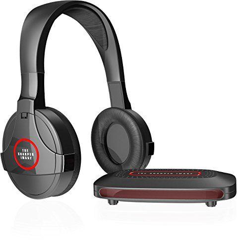 SHARPER IMAGE SHP921 Universal Wireless Headphones For TV Black