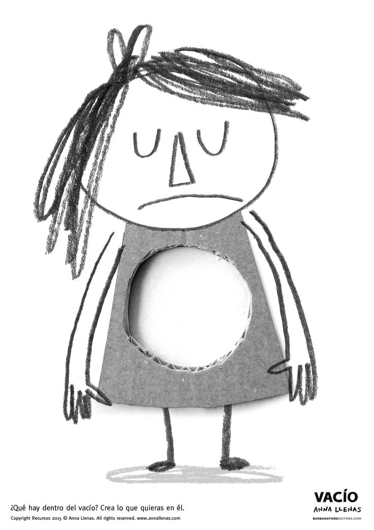RECURSO GRATUITO. ACTIVIDAD para niños a partir de 3 - 4 años (y para adultos). Después de leer el libro, imprime esta hoja y crea lo que crees que hay en el Vacío de Julia. Recuerda que el recurso tiene copyright del libro © autora © y editorial ©. Conservar la información de la fotocopia.