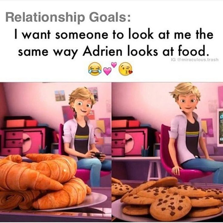 I want someone to look at me the same way Adrien looks at food.  <==Seriously, though, watch anytime Adrien is offered food.  His face just totally lights up.  It's great.