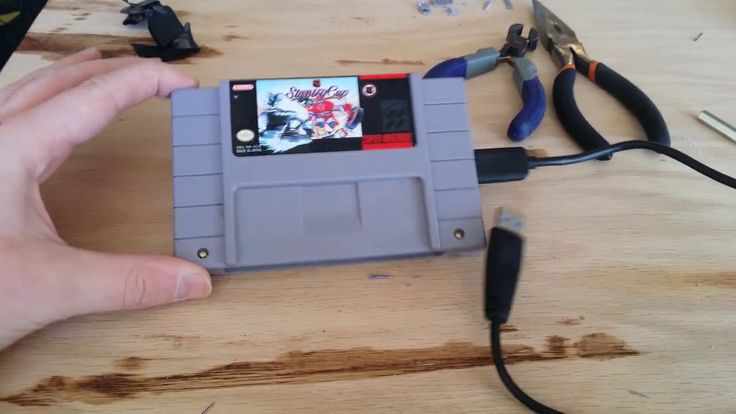 How to make a SNES hard drive enclosure (#QuickCrafter)